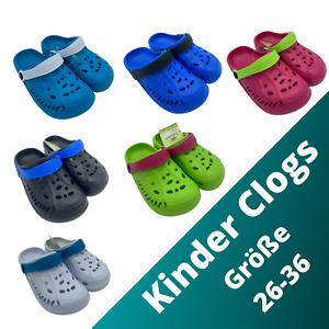 Kinder Clogs Badeschuhe Strandschuhe Sandale Pantoletten Hausschuhe Slipper Top
