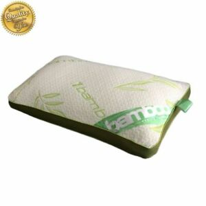 Baffle Box Bamboo Memory Foam Luxury Pillow Neck Head Back Support Anti-Bacteria