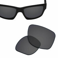 Polarized Replacement Lenses for-OAKLEY Jupiter Squared Sunglasses Solid Black