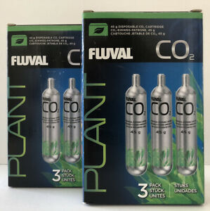 Fluval 1.6oz CO2 Disposable Cartridge # 17556 - 6 Pack