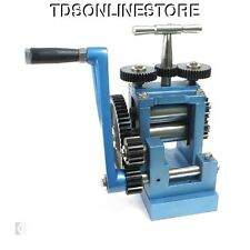 Rolling Mill For Metal Sheet And Wire Up To 5ga 3 Inch Rollers