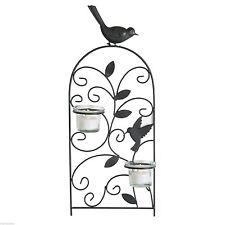 Wandmontierte Deko-Kerzenständer & -Teelichthalter aus Glas