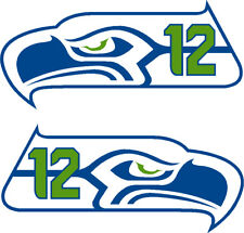 "Seahawks 12"" 12th MAN Decals"