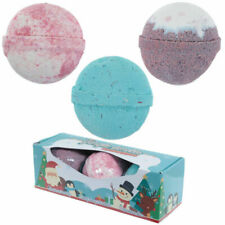 Bath Bombs - Set of 3 Gift Boxed - JINGLE SMELLS - Christmas Scents