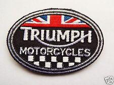 vintage écusson BSA racing Norton triumph biker Patch aufbügler cafe racer