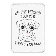 """La persona del vostro Pug pensa lei Case Cover Per Kindle 6 """"e-reader - DOG"""