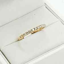 New Diamond Wedding Band or Eternity Band, 18ct Yellow Gold, Sydney Wedding J...