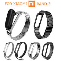 Metal Strap For Xiaomi Mi Band 3 Smart Bracelet Stainless Steel Watch Band Belts