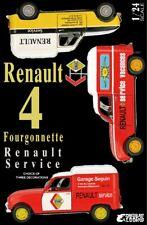 Ebbro 25012 - 1/24 Renault 4 Fourgonnette Service Car - Neu