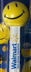 PEZ Walmart Museum Exclusive SMILEY W/Printed Stem*MOC*