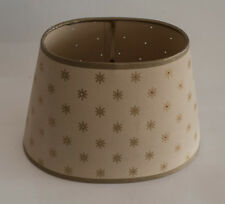 Laura Ashley Lampenschirm Stella Oval Shade Gold