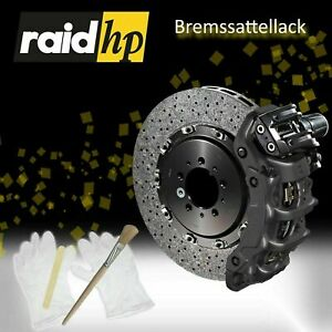 raid hp Bremssattel Lack 350047 ANTHRAZIT METALLIC 6 - teilig