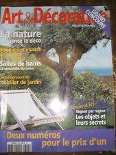 Art et Décoration N° 393 Les outils de jardin Mobilier pays de Guérande Godin