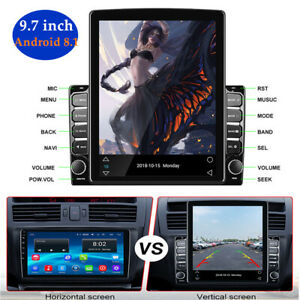 """9.7"""" Android 8.1 1G+16G Car GPS Navigation Multimedia Radio player Touch Screen"""
