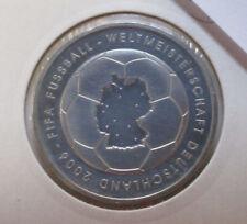 10 Euro Silbermünze FIFA Fußball-Weltmeisterschaft Deutschland 2006 1.Ausg .2003