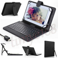 """Case Cover Stand with USB Keyboard for NEW 2015 Amazon Fire 7""""inch Kindle Tablet"""