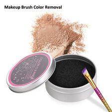 2Pcs Makeup Brush Cleaner Sponge Remover Powder Brush Washing Scrubber Clean Kit