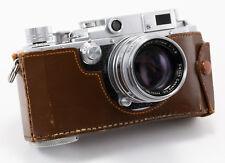 (32) RARE Canon IIS RF film camera w/50/1.8 lens, front cap, case, just serviced