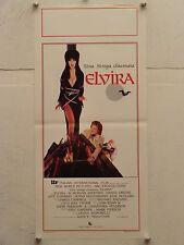 UNA STREGA CHIAMATA ELVIRA horror regia James Signorelli locandina orig. 1989