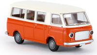 BREKINA 34411 - Fiat 238 mini bus bianco/arancio  Scala H0 1:87