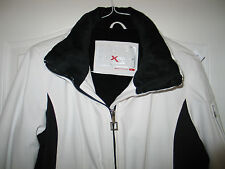 ZEROXPOSUR X Black & White Ski Snowbile Jacket, Large
