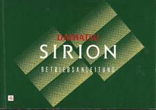 DAIHATSU SIRION  Betriebsanleitung 2002 Bedienungsanleitung Handbuch Bordbuch BA