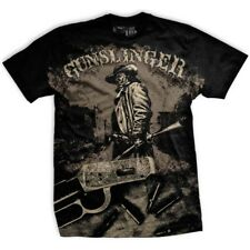 Ranger Up Gunslinger 2.0 Saddle Up  T-Shirt (Black) Size: S - mma military rtfu