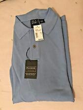 JOS. A. BANK Traveler Polo Mens Lt Blue 100% Cotton Polo Shirt L