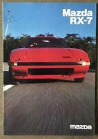 1983 Mazda RX-7 original Australian sales brochure