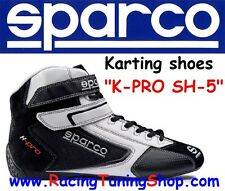 SCARPE KART SPARCO K-PRO SH-5 SIZE EUR 39 - KARTING SHOES BLACK SPARCO KARTING