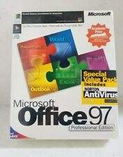 MICROSOFT OFFICE 97 - Professional Edition Intel MMX - SEALED!!! FREE SHIPPING!