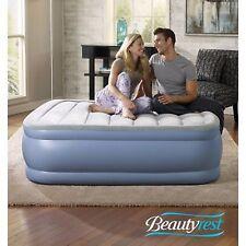 Air Bed Mattress Simmons Beautyrest Velvet Top Double Full Hi Loft Express Pump
