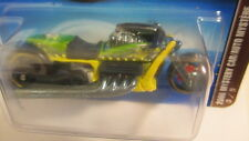 2006 Hot Wheels #221 Mail-in Mystery car #3 AIRY 8 motorcycle yellow w/grn & blk