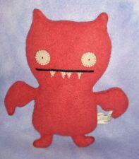 "Uglydolls ICE-BAT 7"" Plush Stuffed Monster Toy (Red) 2002 Original RARE"