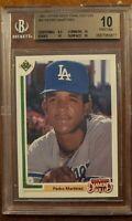 1991 Upper Deck FE Pedro Martinez Bgs 10 Pristine Only (1) 9.5 sub grade! Rare
