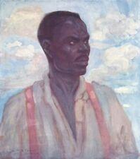 WEST INDIES. A Negro, Jamaica 1905 old antique vintage print picture