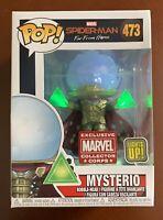 Funko Pop Marvel Spiderman Light Up Mysterio #473 Marvel Collector Corp Figure