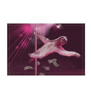Steel Tube Dance Sloth Non-slip Soft Bath Bathroom Bedroom Floor Shower Mat Rugs