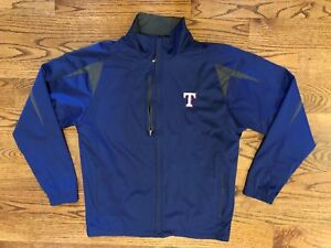 Texas Rangers Baseball MLB Antigua Full Zip Lightweight Jacket Men's Medium