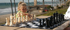 """MegaChess Giant Plastic Chess Set with an 8"""" King"""