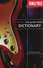 Rick Peckham Berklee Rock Guitar Chord Dictionary Play Guitar Music Book