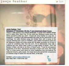 (780A) Jonjo Feather, Taxi - DJ CD