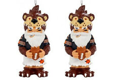 Chicago Bears NFL Gnome Christmas Holiday Ornament (Set of 2)
