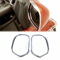 Chrome Mirrors Trim Decoration For Honda GL1800 GOLDWING 01-17 16 15 14 13 12 11