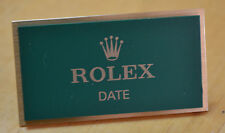 Rolex PLACCA finestra di visualizzazione data display espositore OYSTERDATE Datejust GMT OEM