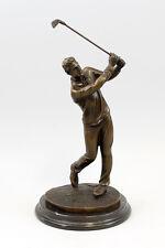 Bronze Plastic Milo Golf players New 9937419
