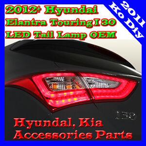 OEM LED Tail Lamp Lights Assy For 12 13 14 2015+ Hyundai Elantra GT Touring I30