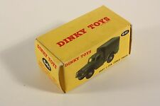 Dinky Toys 641, Army 1-ton Cargo Truck, only Box                  #ab1940