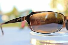 "*NEW* Maui Jim ""KEIKI"" 213-19 Espresso/HCL® Bronze STAINLESS STEEL~ NICE DISPLAY"