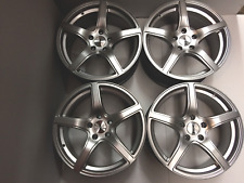 "17"" Silver TSW Bilbao Alloys set to fit Vauxhall 5/110 NEW Top Quality Alloys"